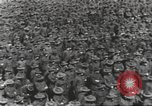 Image of new US Army recruits at World War 1 training camp United States USA, 1917, second 12 stock footage video 65675063079