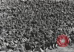 Image of new US Army recruits at World War 1 training camp United States USA, 1917, second 16 stock footage video 65675063079