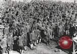 Image of new US Army recruits at World War 1 training camp United States USA, 1917, second 26 stock footage video 65675063079
