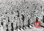 Image of new US Army recruits at World War 1 training camp United States USA, 1917, second 27 stock footage video 65675063079