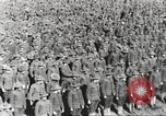 Image of new US Army recruits at World War 1 training camp United States USA, 1917, second 28 stock footage video 65675063079