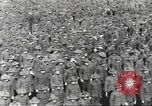 Image of new US Army recruits at World War 1 training camp United States USA, 1917, second 30 stock footage video 65675063079