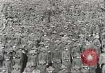 Image of new US Army recruits at World War 1 training camp United States USA, 1917, second 31 stock footage video 65675063079