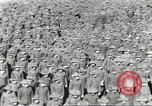 Image of new US Army recruits at World War 1 training camp United States USA, 1917, second 32 stock footage video 65675063079