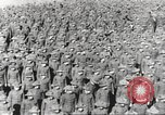 Image of new US Army recruits at World War 1 training camp United States USA, 1917, second 33 stock footage video 65675063079