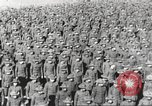 Image of new US Army recruits at World War 1 training camp United States USA, 1917, second 34 stock footage video 65675063079