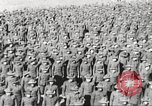 Image of new US Army recruits at World War 1 training camp United States USA, 1917, second 35 stock footage video 65675063079