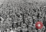 Image of new US Army recruits at World War 1 training camp United States USA, 1917, second 39 stock footage video 65675063079