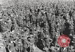Image of new US Army recruits at World War 1 training camp United States USA, 1917, second 44 stock footage video 65675063079
