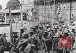 Image of United States soldiers arriving in France World War 1 France, 1917, second 2 stock footage video 65675063089