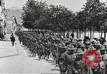 Image of United States soldiers arriving in France World War 1 France, 1917, second 10 stock footage video 65675063089