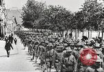 Image of United States soldiers arriving in France World War 1 France, 1917, second 17 stock footage video 65675063089