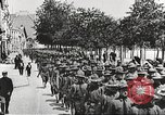 Image of United States soldiers arriving in France World War 1 France, 1917, second 21 stock footage video 65675063089