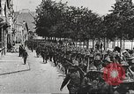 Image of United States soldiers arriving in France World War 1 France, 1917, second 36 stock footage video 65675063089