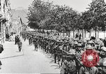 Image of United States soldiers arriving in France World War 1 France, 1917, second 37 stock footage video 65675063089