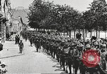 Image of United States soldiers arriving in France World War 1 France, 1917, second 38 stock footage video 65675063089