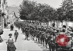 Image of United States soldiers arriving in France World War 1 France, 1917, second 41 stock footage video 65675063089