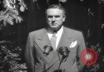 Image of Brien McMahon United States USA, 1949, second 19 stock footage video 65675063091