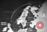 Image of British ships in Arctic Convoy North Sea, 1942, second 13 stock footage video 65675063092