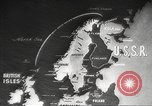 Image of British ships in Arctic Convoy North Sea, 1942, second 19 stock footage video 65675063092