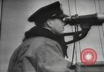 Image of British ships in Arctic Convoy North Sea, 1942, second 33 stock footage video 65675063092