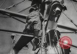 Image of British ships in Arctic Convoy North Sea, 1942, second 37 stock footage video 65675063092