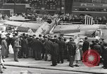 Image of German aircraft in British town square United Kingdom, 1941, second 3 stock footage video 65675063095