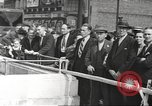 Image of German aircraft in British town square United Kingdom, 1941, second 5 stock footage video 65675063095