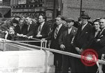 Image of German aircraft in British town square United Kingdom, 1941, second 6 stock footage video 65675063095