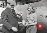 Image of German aircraft in British town square United Kingdom, 1941, second 12 stock footage video 65675063095