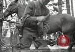 Image of 1st Cavalry Division Salem Oregon USA, 1942, second 50 stock footage video 65675063116