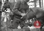 Image of 1st Cavalry Division Salem Oregon USA, 1942, second 52 stock footage video 65675063116