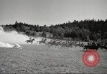Image of 1st Cavalry Division Salem Oregon USA, 1942, second 18 stock footage video 65675063119
