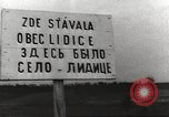 Image of Survivors and perpetrators of Lidice massacre Europe, 1946, second 5 stock footage video 65675063141