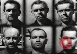 Image of Survivors and perpetrators of Lidice massacre Europe, 1946, second 61 stock footage video 65675063141