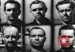 Image of Survivors and perpetrators of Lidice massacre Europe, 1946, second 62 stock footage video 65675063141