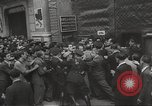 Image of European children and adults scavenge for food and relief after war Europe, 1945, second 41 stock footage video 65675063144