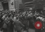 Image of European children and adults scavenge for food and relief after war Europe, 1945, second 42 stock footage video 65675063144
