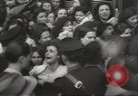 Image of European children and adults scavenge for food and relief after war Europe, 1945, second 43 stock footage video 65675063144