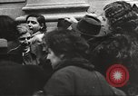 Image of European children and adults scavenge for food and relief after war Europe, 1945, second 44 stock footage video 65675063144