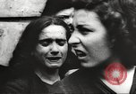 Image of European children and adults scavenge for food and relief after war Europe, 1945, second 49 stock footage video 65675063144