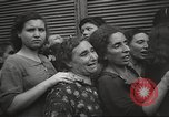 Image of European children and adults scavenge for food and relief after war Europe, 1945, second 57 stock footage video 65675063144