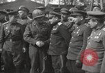 Image of officials meet Torgau Germany, 1945, second 3 stock footage video 65675063152