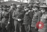Image of officials meet Torgau Germany, 1945, second 4 stock footage video 65675063152