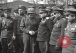 Image of officials meet Torgau Germany, 1945, second 6 stock footage video 65675063152