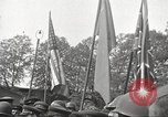 Image of officials meet Torgau Germany, 1945, second 12 stock footage video 65675063152