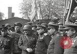 Image of officials meet Torgau Germany, 1945, second 16 stock footage video 65675063152