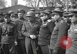 Image of officials meet Torgau Germany, 1945, second 17 stock footage video 65675063152