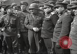 Image of officials meet Torgau Germany, 1945, second 19 stock footage video 65675063152