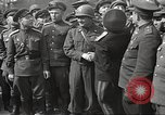 Image of officials meet Torgau Germany, 1945, second 21 stock footage video 65675063152